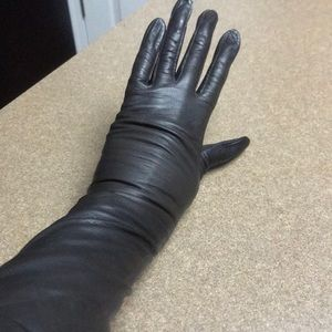 NWT FRENCH LONG LEATHER GLOVES